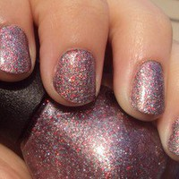 Nicole By OPI Nail Polish Kardashian Kolor ALL IS GLAM ALL IS BRIGHT Glitter