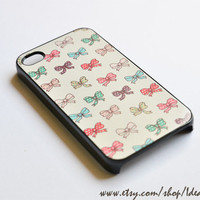 Cute Pattern Case  Ribbon Pattern  Cute Bow  iphone 4s by IdeaCase