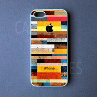 Iphone 5 Case - Colorful Wood Iphon.. on Luulla