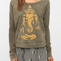 Truly Madly Deeply Mineral Wash Sweatshirt