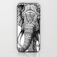 Ornate Elephant iPhone & iPod Skin by BioWorkZ | Society6