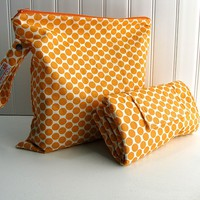 Wet Bag And Changing Pad - Custom - You Choose Fabric | Luulla