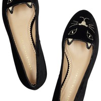 Charlotte Olympia kitty cat flats