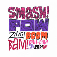 Smash! Pow! Zing! Boom! Art Print by Chris Piascik | Society6