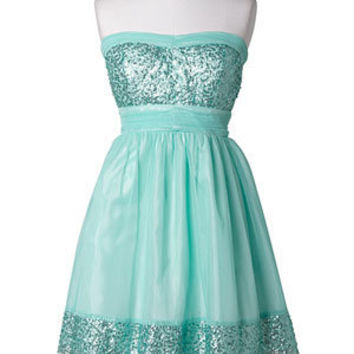 dELiAs > Vanessa Sequin Trim Dress > dresses > view all dresses