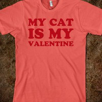 My Cat Is My Valentine - Text First