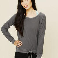 Free People Raglan Top