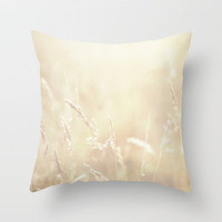 Lets make hay whilst the sun shines  Throw Pillow by secretgardenphotography [Nicola] | Society6