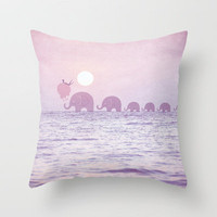 EleFantasy - Sunday Dream Throw Pillow by Belle13 | Society6