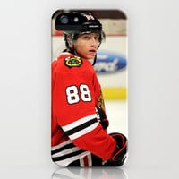 patrick kane // chicago blackhawks iPhone Case by Hattie Trott | Society6