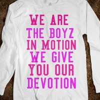Boyz In Motion Shirt  - Curly Hair Just Dont Care