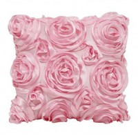 Wake Up Frankie - The Bouquet Dec Pillow - Pink