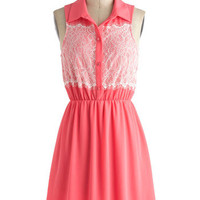 Gotta Guava Dress | Mod Retro Vintage Dresses | ModCloth.com
