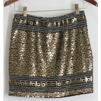 Sequin and Beaded Skirt