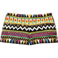 Sass &amp; bide?|?Coming Back embroidered silk-blend shorts?|?NET-A-PORTER.COM