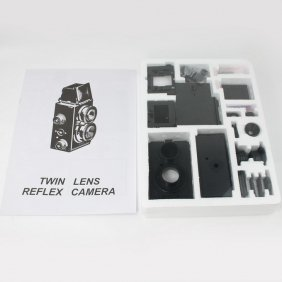 DIY Recesky Twin Lens Reflex TLR-Kamera Set Film 35mm - US$15.88