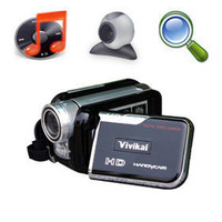 Vivikai 5MP CMOS 8-fachem Digitalzoom digitale Videokamera mit 3,0 Zoll TFT LCD Bildschirm mp3-PC-Kamera-Funktion (hd-768) - US&amp;#36;87.09