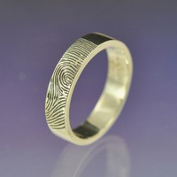 Personalised Fingerprint Ring