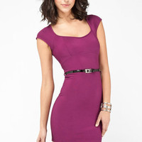Back's Open Dress in Berry :: tobi