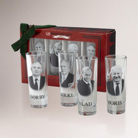 Russian Vodka Shooter, Set of 4