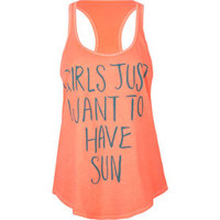 BILLABONG Sun Fun Womens Tank 211395313 | Graphic Tees &amp; Tanks | Tillys.com