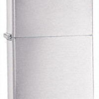 Zippo Brushed Chrome Armor Heavy Wall Lighter with Free Engraving