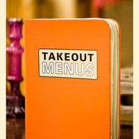 Takeout Menu Binder                    - Francesca's Collections