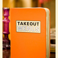 Takeout Menu Binder                    - Francesca&#x27;s Collections
