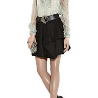 Alexander McQueen Ruffled silk blouse - 70% Off Now at THE OUTNET