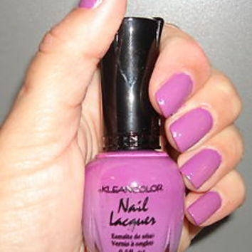 "KLEANCOLOR NAIL POLISH~LACQUER ""LAVEN BABY"" 123 NEW!"