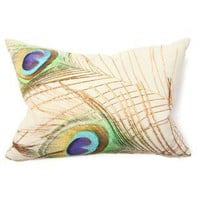 Villa Home Illusion Peacock Digital Print | Wayfair