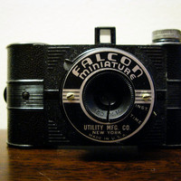 Falcon Miniature 35mm Camera Early 35mm Film by timepassagesshop