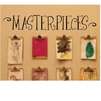 MasterPieces Vinyl Wall Quote Decal by madebytheresarenee on Etsy