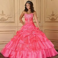 Stock pink wedding dress...