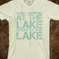 What Happens at the Lake, Stays at the Lake
