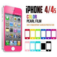 Amazon.com: Mercury Color Screen Protector for Apple iPhone 4 (Hot Pink): Cell Phones &amp; Accessories