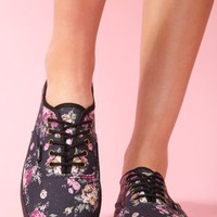 Floral Sneaker