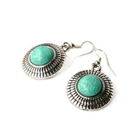 Earrings Turquoise Sun | Mad Lady