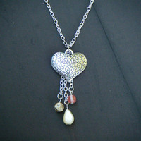 Heart Cascade Necklace