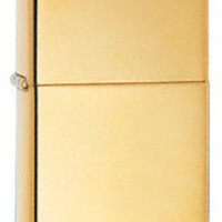 Zippo High Polish Brass Armor Heavy Wall Lighter with Free Engraving