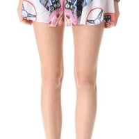 Clover Canyon Wheels Shorts | SHOPBOP
