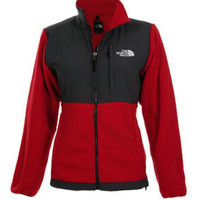 The North Face Fleece Denali Jacket for woman new with tags size medium red