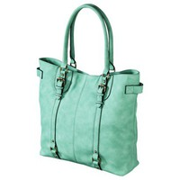 Merona Tote Handbag - Mint