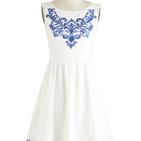 Seaside Serenade Dress | Mod Retro Vintage Dresses | ModCloth.com