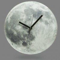 ThinkGeek :: Light Up Moon Clock