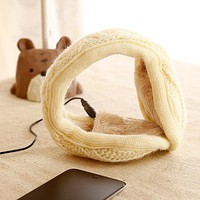 Knitted Fabric Headphone Music Earmuffs