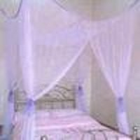 OctoRose ® PURPLE 4 POSTER BED CANOPY MOSQUITO NET FULL QUEEN KING