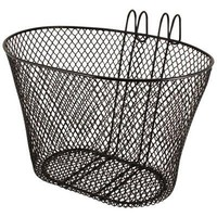 Eleven81 Lift Off Wire Mesh Oval Front Handlebar Bike Basket