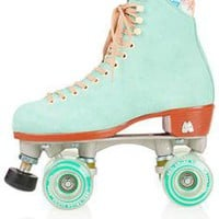Moxi Teal Roller Skates - View All - Shoes - Topshop