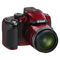 Nikon COOLPIX P510 16.1MP Digital Camera with 42x Optical Zoom - Red